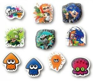 Details about Splatoon marshmallow seal by ensky Stickers Japanese Video  Game Character