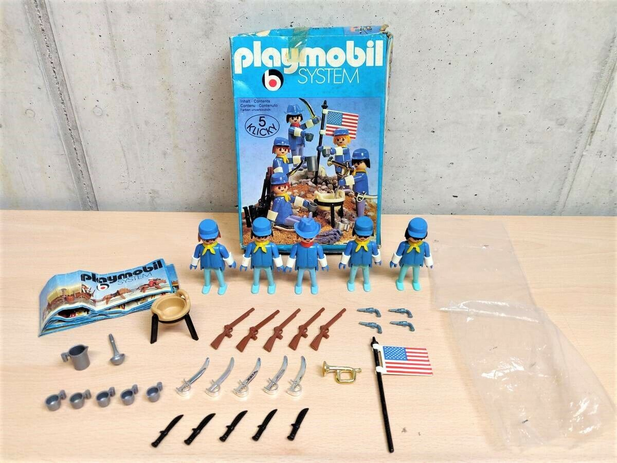 PLAYMOBIL SYSTEM 3242 CAVALLERIA USA 1976