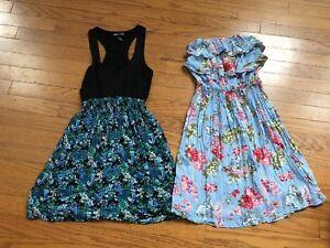 a354cacc4 Lot Juniors Womens Sundress Sun Dress Wet Seal Elan Boutique Floral ...