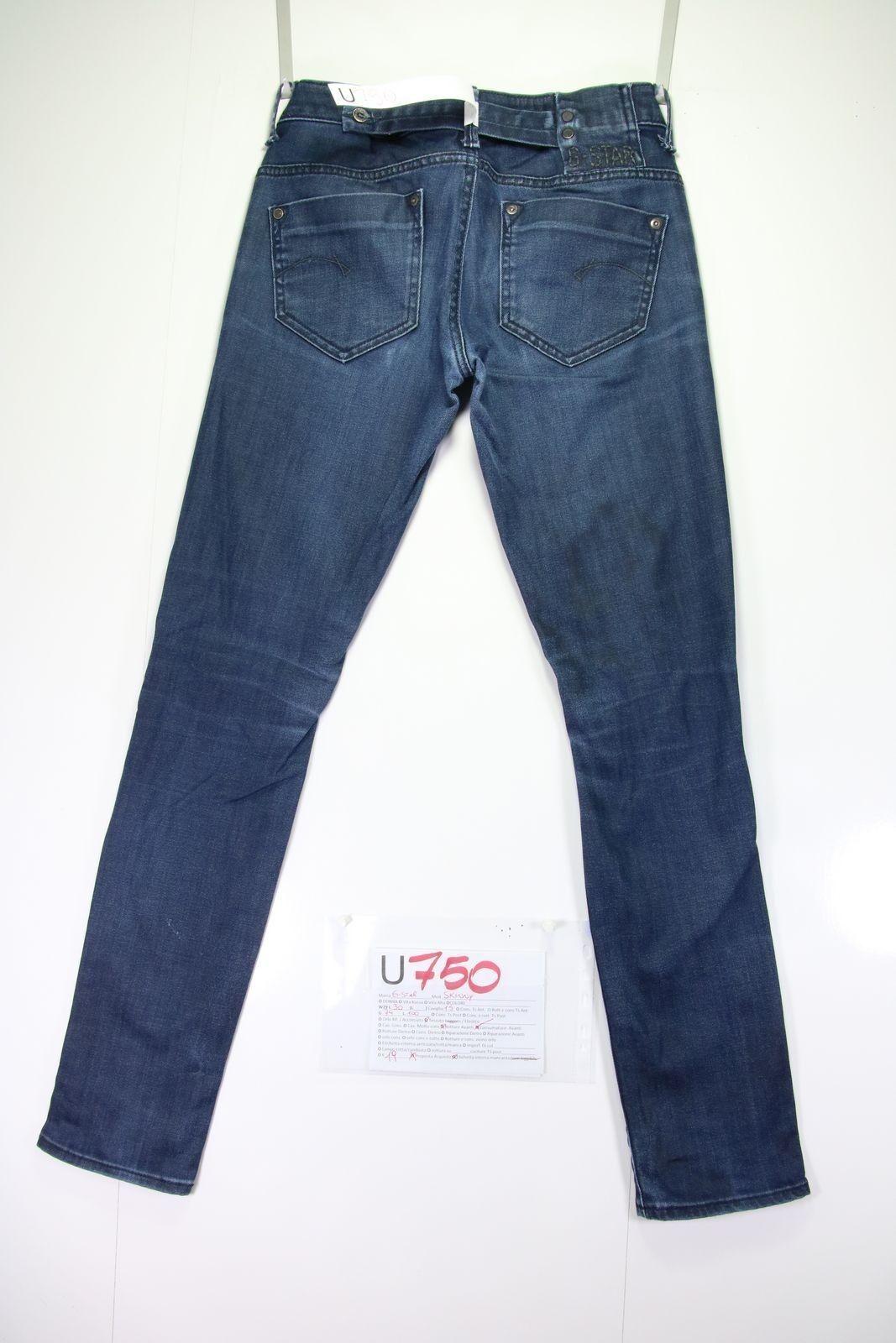 Levi's jeans 501 destroyed(Cod.U749)tg43 W29 L34 jeans Levi's usato vintage cae5f7