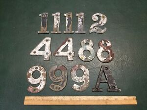 "Vintage 3/"" Brass Letter A house number"