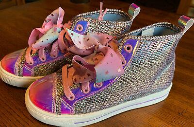 Jojo Siwa Iridescent Mermaid Bow Shoes