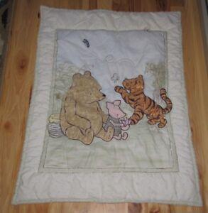 Winnie-The-Pooh Baby Quilt
