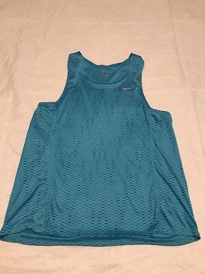 Nike 404648 Mens Dri Fit Sleeveless Running Singlet Vest Tank Top Shirt