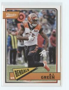 2018-Panini-Classics-Red-Back-Parallel-Football-Card-Pick-Including-RC-299