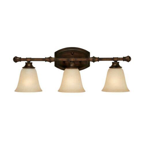 Capital Lighting Belmont 3 Light Vanity Fixture Burnished Bronze 1333BB-287