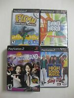 Playstation 2 Lots Of 4 Games Factory Sealed