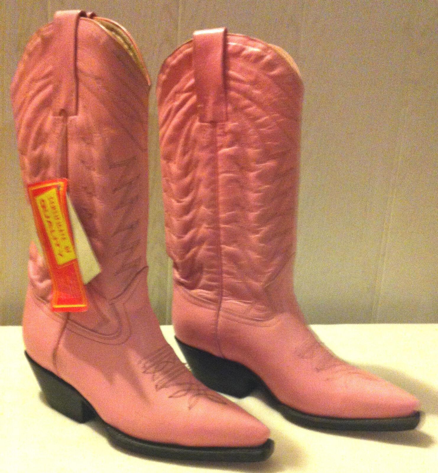 Bottes Mexicain pinks - Marque   la Gran Bota   - Vintage 90s