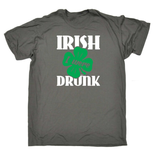 top Funny Novelty T-Shirt Mens tee TShirt - Irish I Were Drunk for cheap