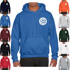 premium selection fe034 639bf Details about Mens Chicago Cubs Hoodie Warm Fleece Pullover Sweatshirt Nap  Team Uniform 0098