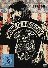 SONS OF ANARCHY, Season 1 (Charlie Hunnam, Ron Perlman) 4 DVDs NEU+OVP