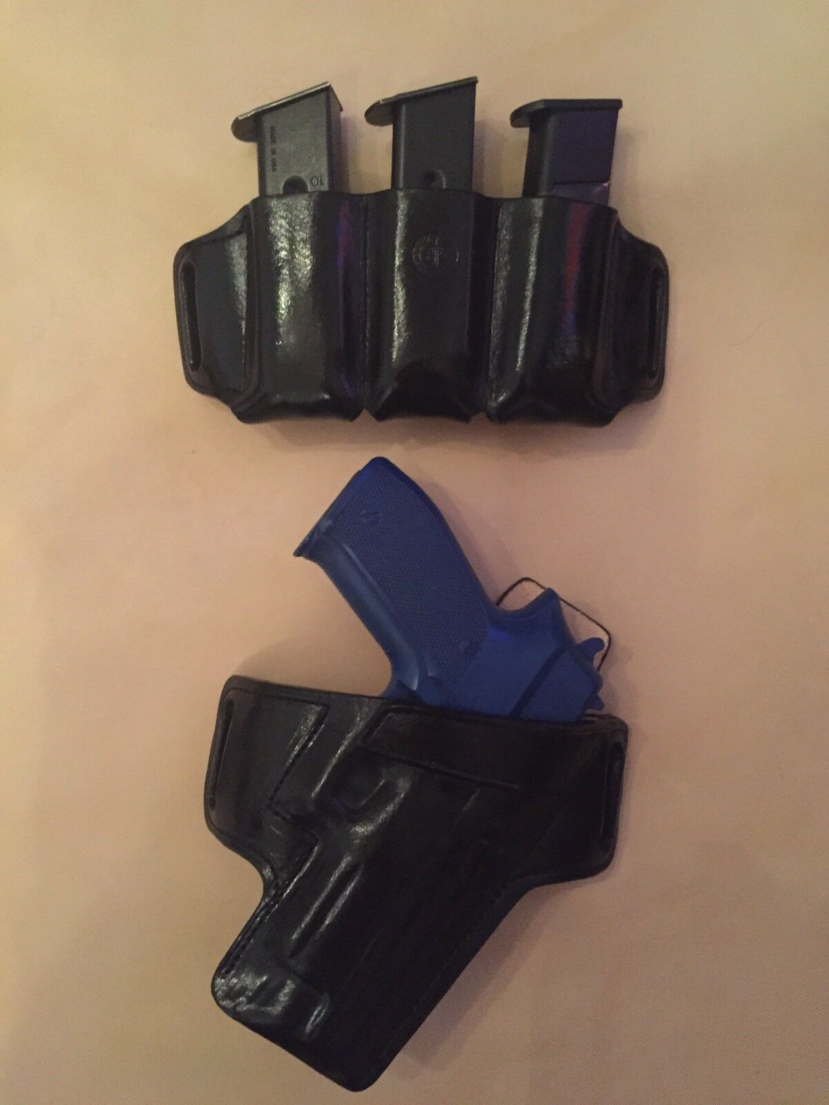 Holster And Triple Magazine Range Set