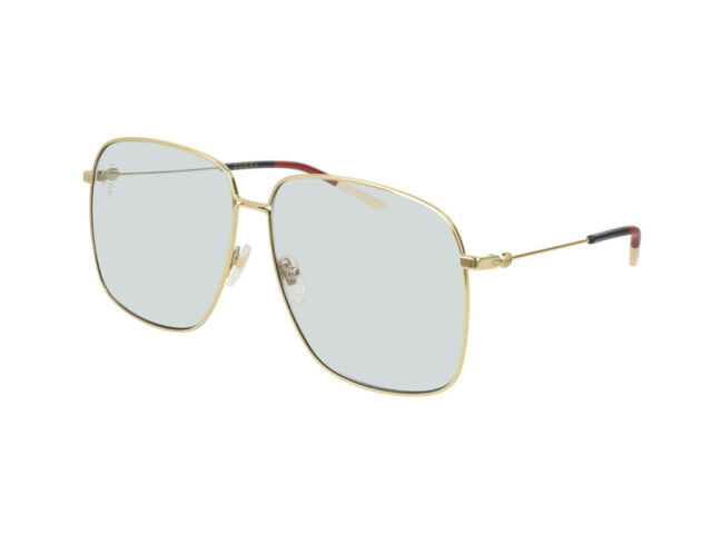 b917a484645 Sunglasses Gucci Authentic Gg0394s Metal Gold Blue Light 006 for ...