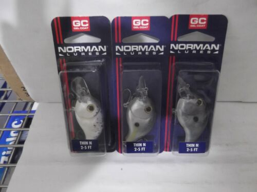 BILL NORMAN THIN N 3//8OZ MIXED COLORS LOT OF 3