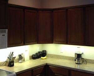 Kitchen Under Cabinet Professional Lighting Kit WARM WHITE LED