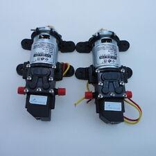 2X 12V 100PSI 4L/Min High Pressure Diaphragm Water Pump For RV CARAVAN BOAT