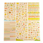 6 Sheets Cat Word Expression Diary Album Sticker Calendar Card Scrapbooking 9
