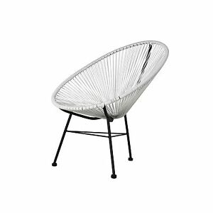Image Is Loading Acapulco Sun Oval Weave Indoor Outdoor Lounge Chair