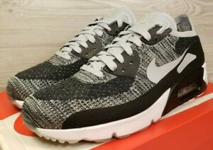 newest 9ade9 0eb26 Details about Nike Air Max 90 Ultra 2.0 Flyknit Black White Oreo Cookies  875943-005 Pick Size