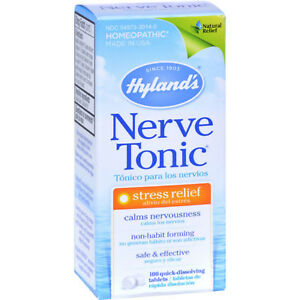 Natural Nerve Pills Anxiety Remedy Stress Relief Capsules ...