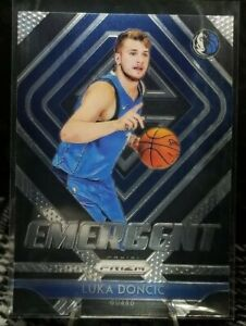 2018-19-Panini-Prizm-Emergent-3-Luka-Doncic-Dallas-Mavericks-RC-Rookie-MINT