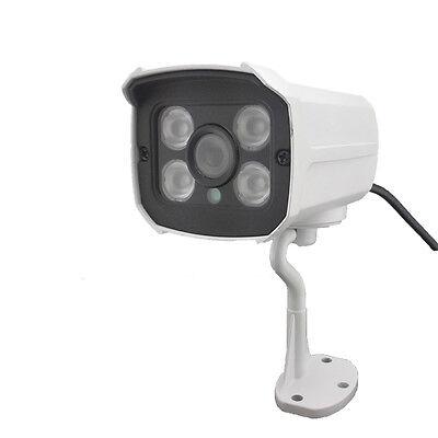 HJT Audio IP Camera 1080P HD Network P2P Onvif Outdoor Security 4IR Night Vision