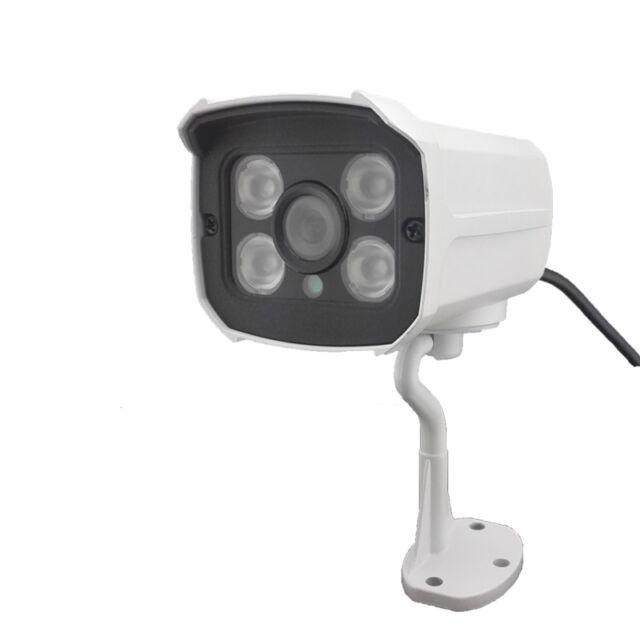 HJT POE Audio 720P IP Camera HD P2P Onvif Outdoor Security Waterproof 4 IR Night