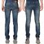 Nudie-senores-slim-fit-Jeans-pantalones-Thin-Finn-sale-azul-negro-Stretch miniatura 18