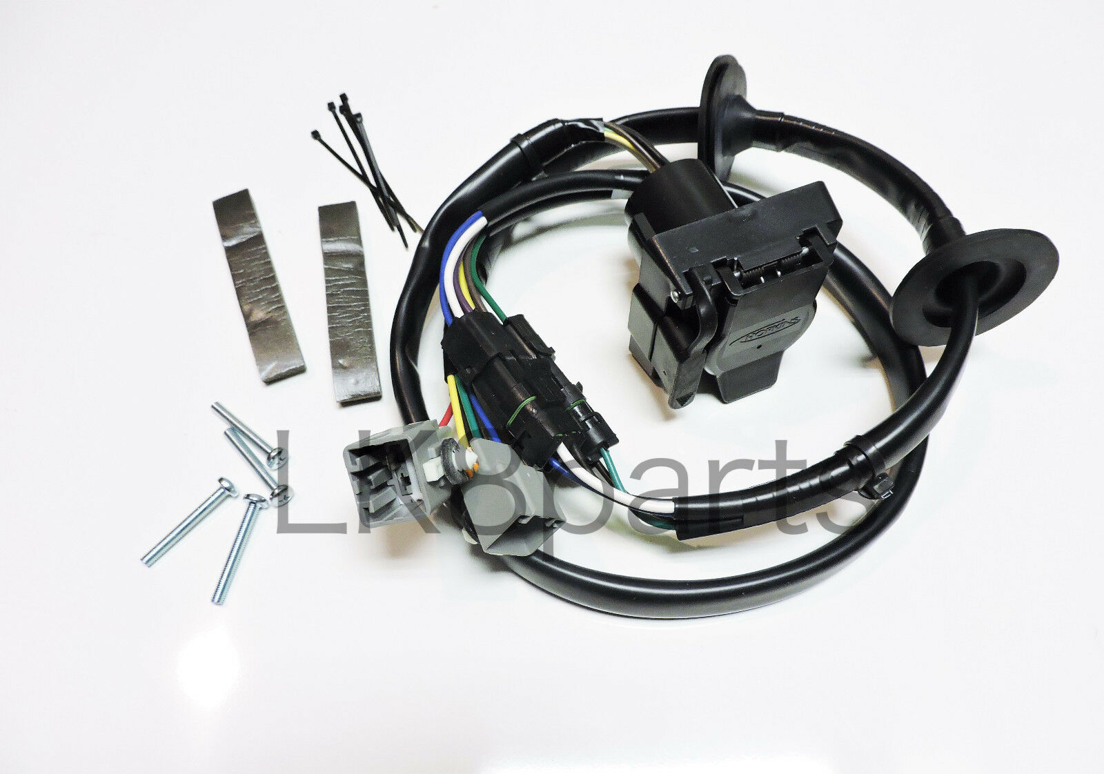 Range Rover Trailer Wiring Harness Opinions About Diagram For Pontoon Land Lr4 Tow Hitch Wire Kit 10 12 Vplat0013 New Ebay