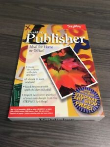 Stepway-Desktop-Publisher-For-Windows-PC-Software-Multimedia-TJF816-Very-Good