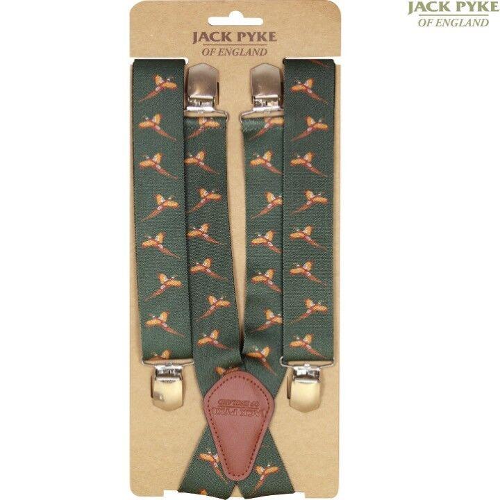 JACK PYKE élastique bretelles homme réglable clip clip réglable sur Cartouche faisan chasse acb052