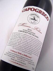 2000-CAPOGRECO-ESTATE-Nuovo-Millennio-Museum-Release-Cabernet-Isle-of-Wine