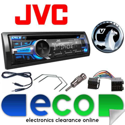 Vauxhall Astra G MK4 99-04 JVC Car Stereo Bluetooth CD MP3 AUX USB Upgrade Kit