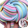 Rainbow Fluffy Floam Slime Scented Stress Relief No Borax Plasticine Sludge Toy