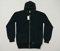 Globe Men's Stanley Hooded Zip-up Sweater In Ink Size Large $130