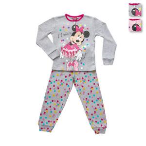 salvare c8ad4 83f89 Dettagli su Pigiama bambina Minnie Disney in Caldo cotone DGW18107 T253