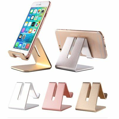 Universal Generic Aluminum Cell Phone Desk Stand Holder For Phone and Tablet New