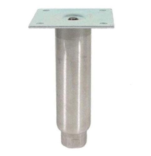 "EQUIPMENT LEG 6/"" Adjustable plate mount S//S NEW 34250"