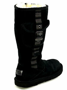 6f2085a1df8 Ugg Retro Cargo Black Pocket Boots S/N 1895 Size 6 USA | eBay