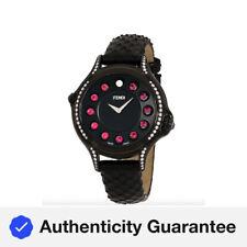 Fendi Crazy Carats Quartz Movement Black Dial Ladies Watch F110031011C0T05