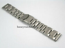 ULTIMATE HEAVY STEEL BRACELET STRAP FOR BREITLING BENTLEY NAVITIMER 24MM WATCH