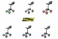 Bag Boy Golf Xl 4 Wheel Push Cart Choose Color