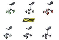 Bag Boy Golf Xl 4 Wheel Push Cart Choose Color