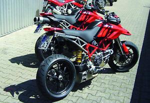 Ducati Hypermotard 796 Ex Box Stainless Steel Qd Exhaust System Motogp Race Ebay