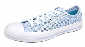 Lace Ox Shoes Blue Up Cyan Canvas white Trainers Star Textile Womens All Converse qS8p1p