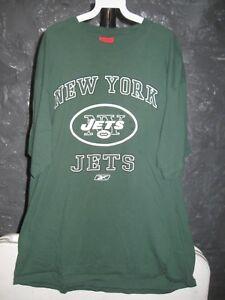 d77f29d49 New York Jets NFL Reebok Classic Green New York Jets XL T-Shirt