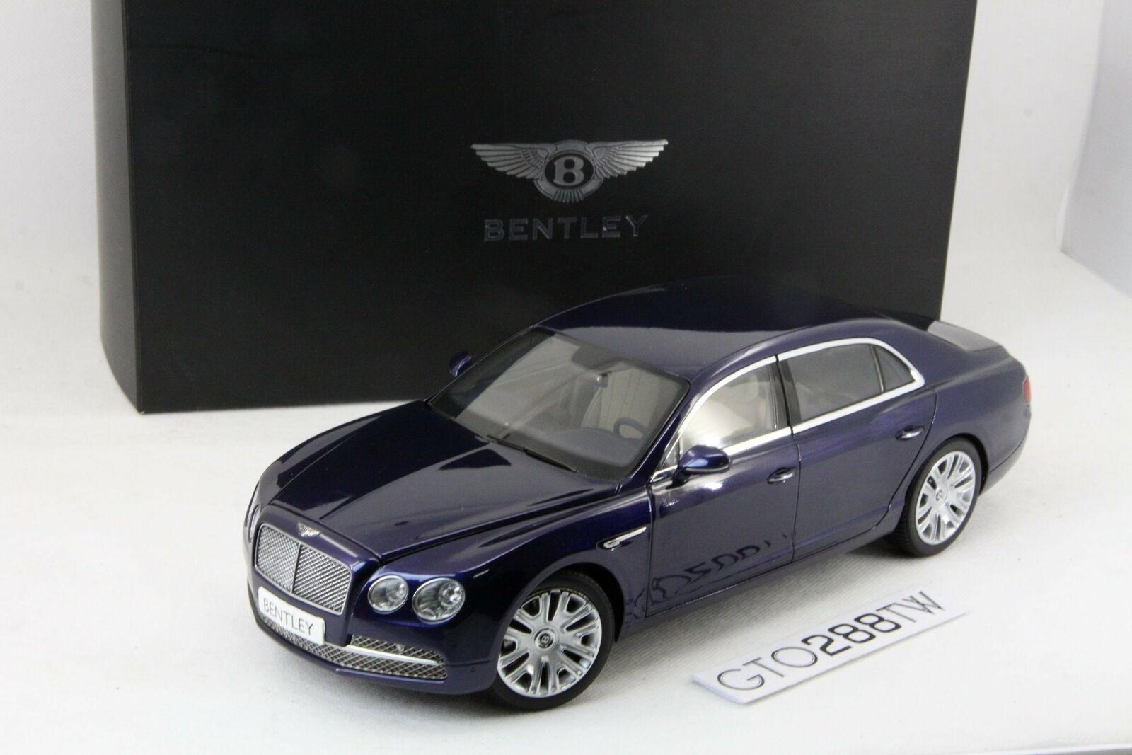 buscando agente de ventas Kyosho 1 18 Escala Bentley Flying Spur W12 2013 Azul Azul Azul Pavo Real (08891PCL) Paquete De Distribuidor  suministro directo de los fabricantes