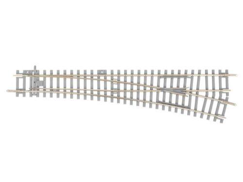 traccia h0 a-binario PIKO 55171 morbida destra con soglie di cemento