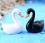thumbnail 5 - Mini Swan Figurine Fairy Garden Ornaments Crafts Goose Model Miniature Animal
