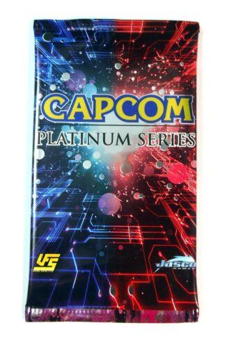 Jasco Universal Fighting System TCG UFS Capcom Platinum Series One Booster Pack